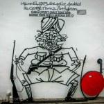 police firefighters street art georgetown malaysia