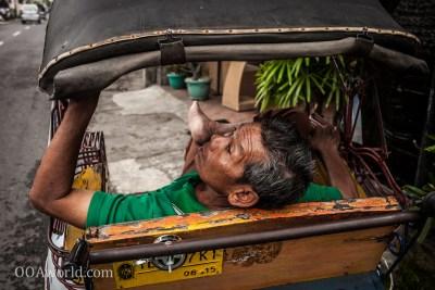Photo Becak Jogja Indonesia Portrait Ooaworld