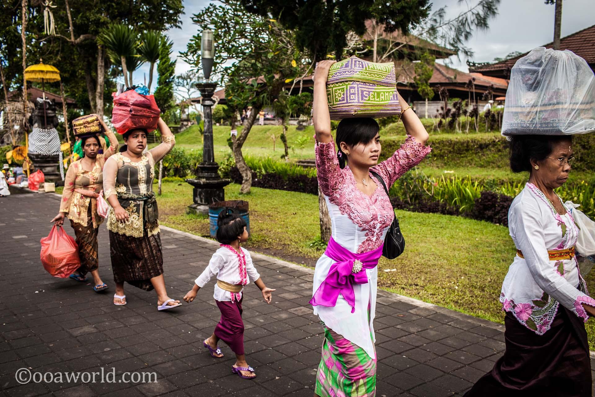 Besakih Mother Temple Bali Women photo Ooaworld
