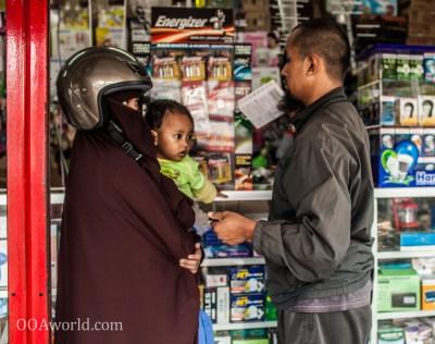 Photo Family Burqa Indonesia Ooaworld