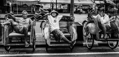 Photo Indonesia Pedicab Brothers Ooaworld