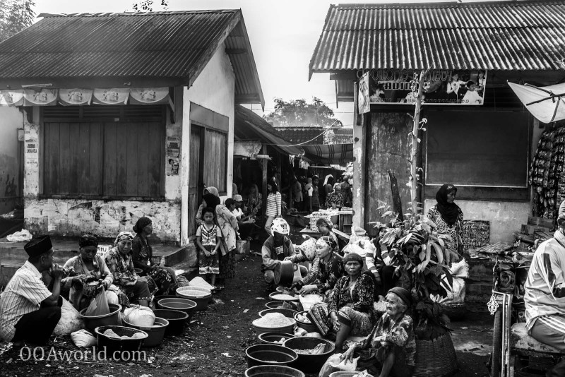 Photo Indonesia Probolinggo Street Market Ooaworld