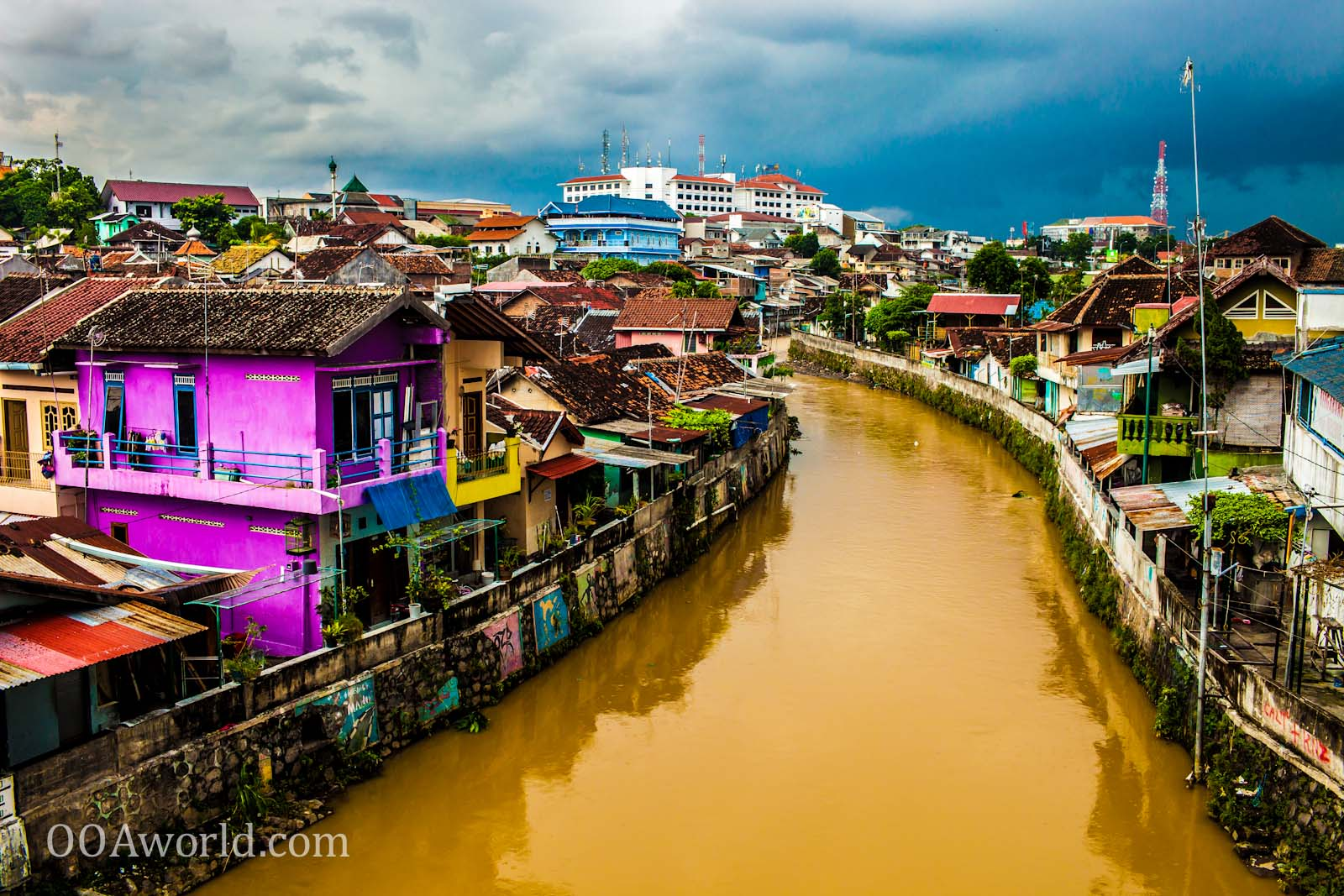 Photo Jogja Indonesia River View Ooaworld