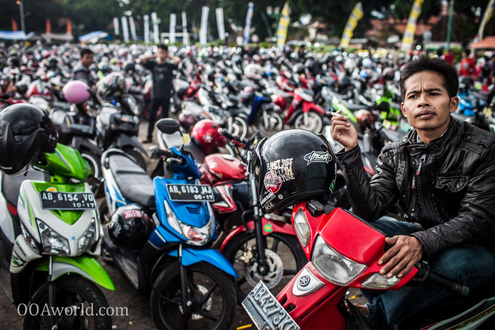 Photo Malioboro Jogjakarta Indonesia Motorcycles Ooaworld