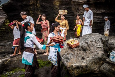 Tanah Lot Bali Temple Moon Celebration photo Ooaworld