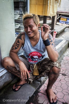 Tatooed Indonesian Youth photo Ooaworld