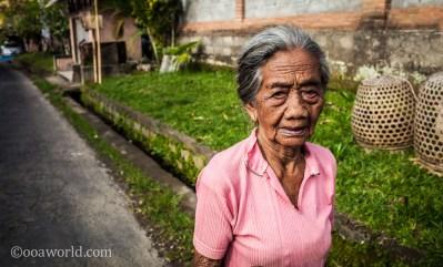 Ubud Portrait Woman Bali Indonesia photo Ooaworld