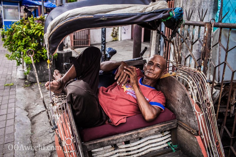 Photo Yogyakarta Becak Indonesia Portrait Ooaworld