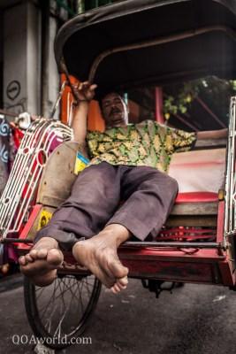 Photo Yogyakarta Becak Nap Ooaworld