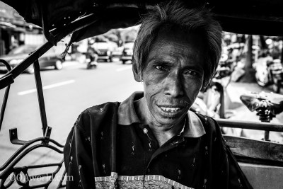 Photo Yogyakarta Pedicab Indonesia Ooaworld