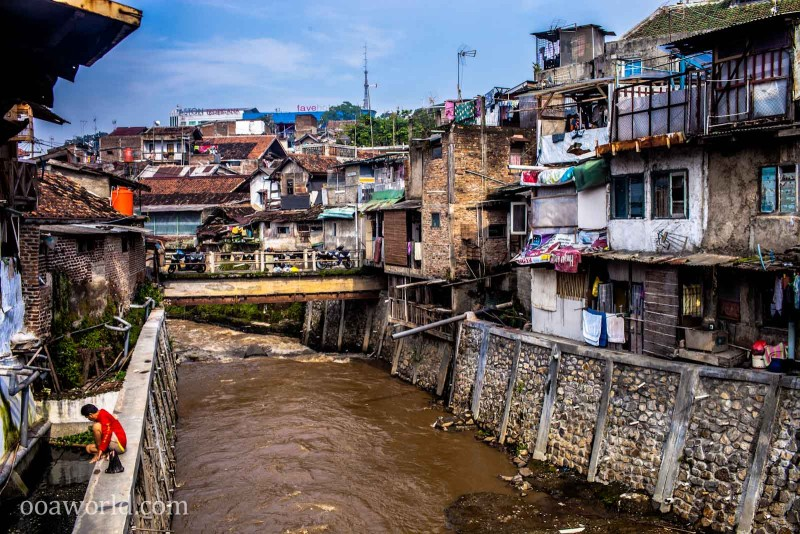 Bandung Indonesia River Photo Ooaworld