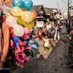 Children Chasing Balloons Photo Ooaworld
