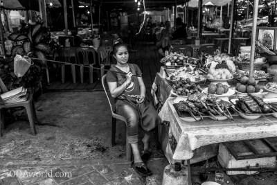 Fly Swatter Woman Laos Photo Ooaworld