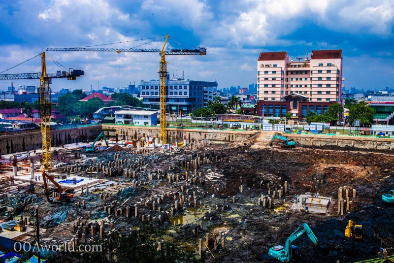 Jakarta Construction Indonesia Photo Ooaworld