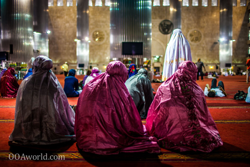 Masjid Istiqlal Women Photo Ooaworld