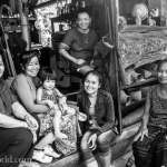 Vientiane to Vang Vieng Lao Family Portrait Photo Ooaworld