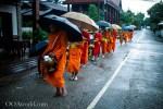 Luang Prabang Alms Giving Ceremony, Monks Walk, Tak Bat, Laos – Photos, Video