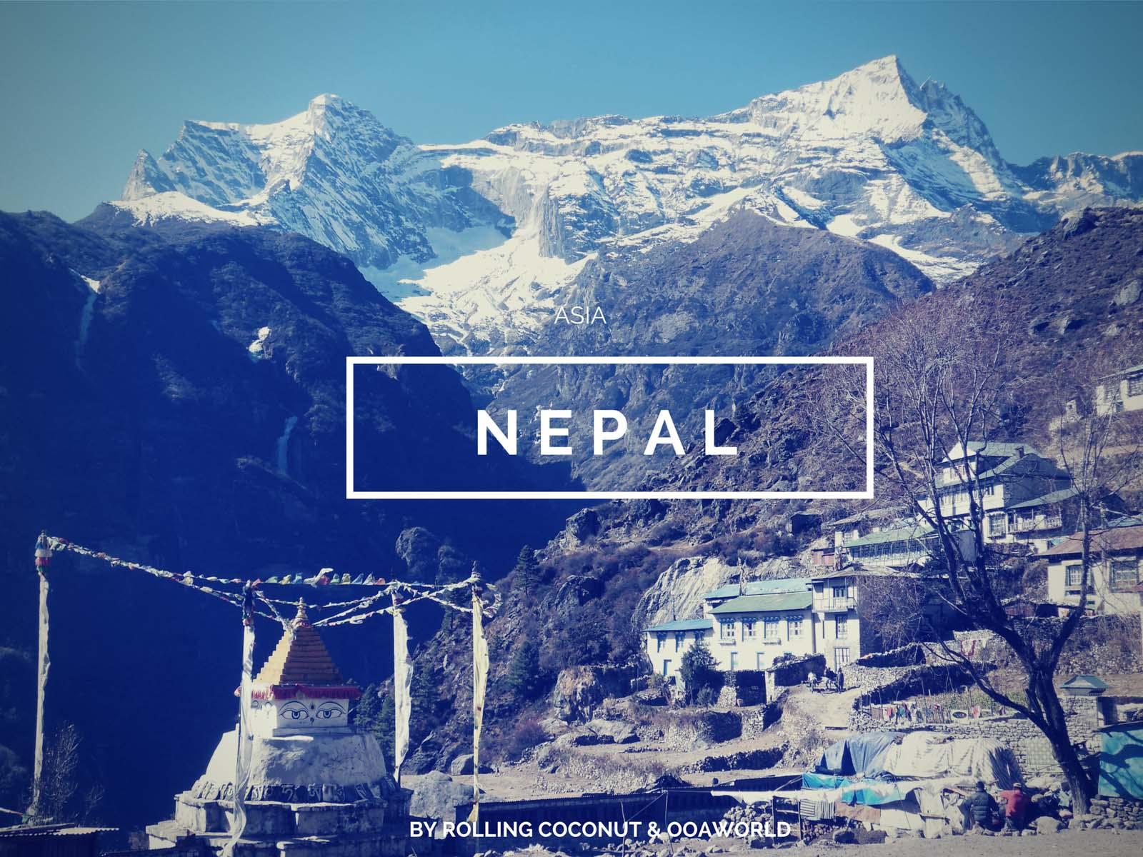 Nepal Namche Travel Ooaworld Rolling CoconutPhoto Ooaworld