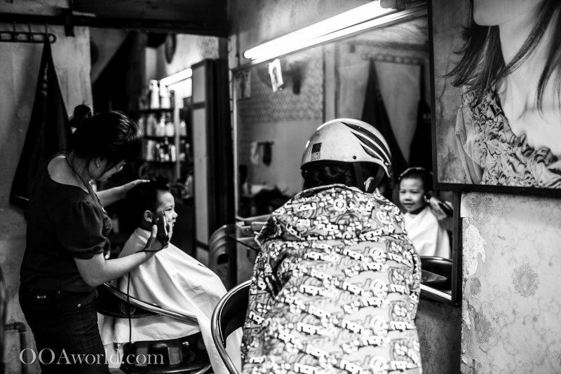 Hanoi Haircut Vietnam Photo Ooaworld