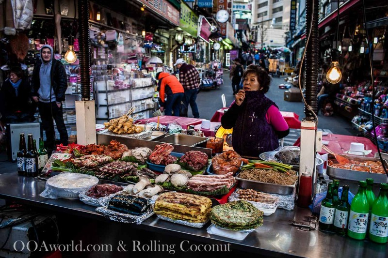 Namdaemun Street Food Seoul Photo Ooaworld