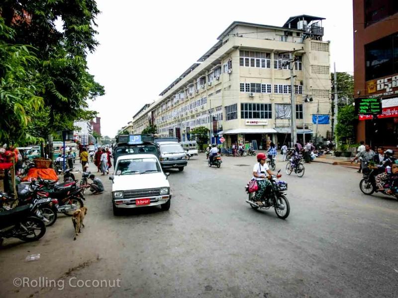 Roads Mandalay Myanmar Photo Ooaworld