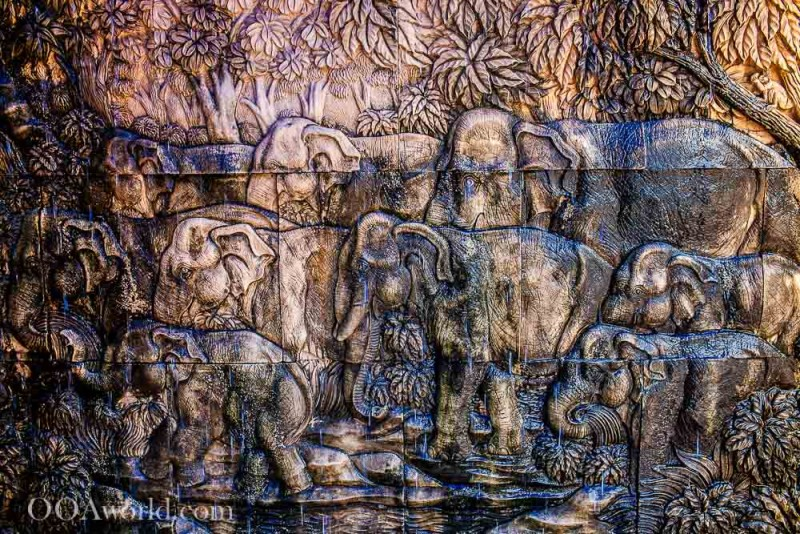 Texture Photography Man-Made Elephants Photo Ooaworld