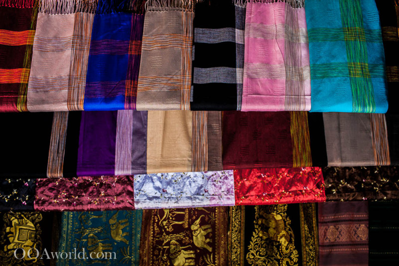 Texture Photography Man-Made Scarf Laos Photo Ooaworld