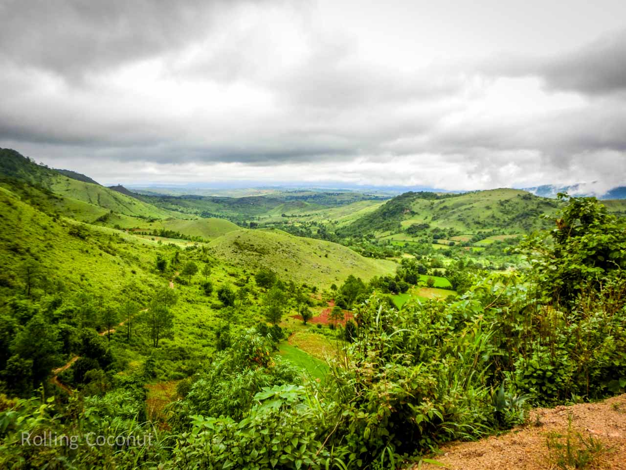 Kalaw Inle Lake Trek Myanmar Landscape Photo Ooaworld