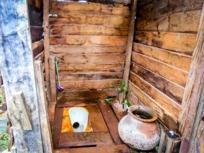 Kalaw Inle Lake Trek Myanmar Toilets Photo Ooaworld