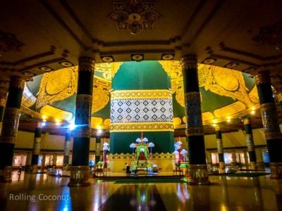 Inside Uppatasanti Pagoda Naypyidaw Myanmar Ooaworld Rolling Coconut Photo Ooaworld