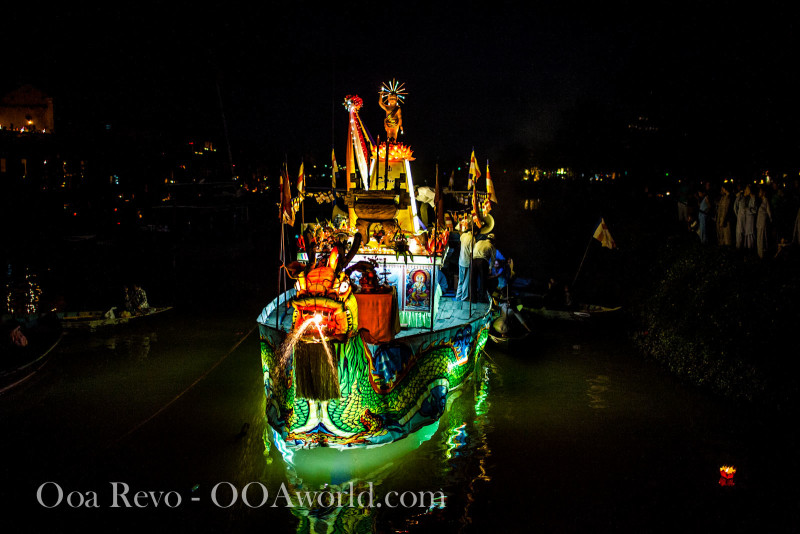 Hoi An Dragon Boat Perfume River Photo Ooaworld