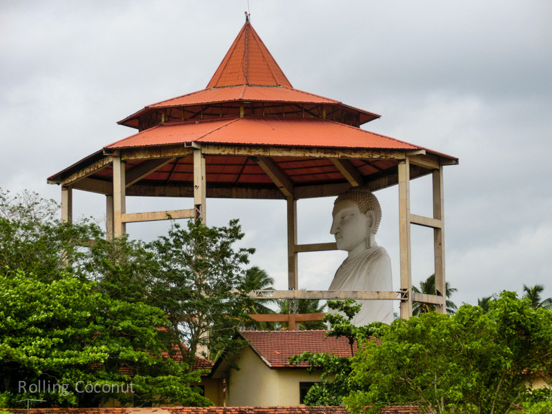 Big Buddha Statue Anuradhapura Sri Lanka ooaworld Rolling Coconut Photo Ooaworld