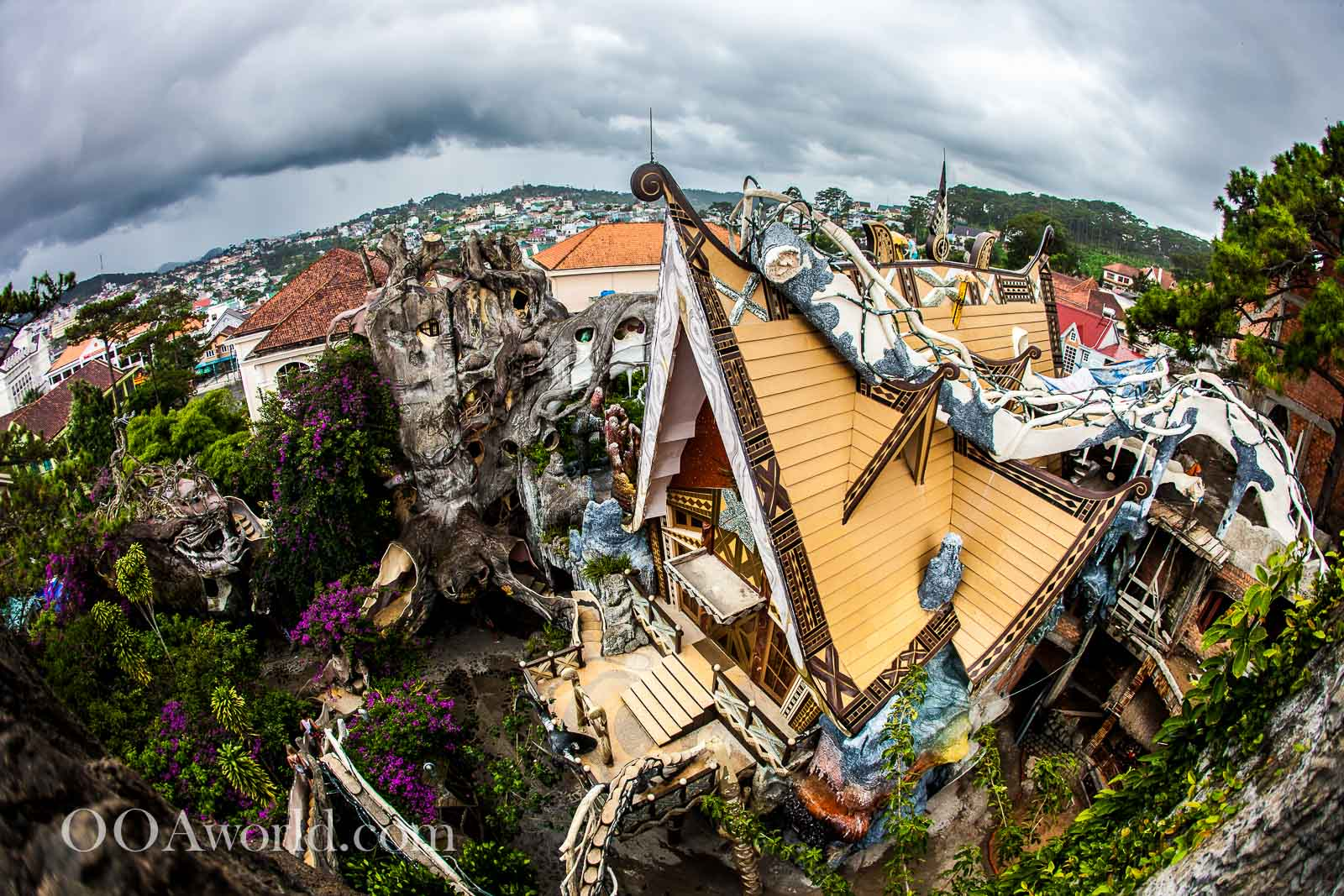 Dalat Crazy House Vietnam Photo Ooaworld