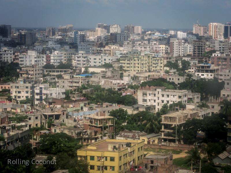 Bangladesh Dhaka Buildings Skyline ooaworld Rolling Coconut Photo Ooaworld