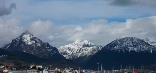 Ushuaia Argentina Landscape Mountains ooaworld Rolling Coconut Photo Ooaworld