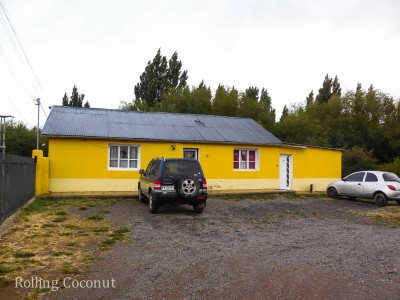 El Calafate Argentina Hotel Front ooaworld Rolling Coconut Photo Ooaworld