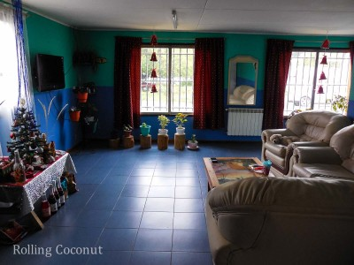 El Calafate Argentina Hotel Living Room ooaworld Rolling Coconut Photo Ooaworld