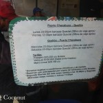 Chile Coyhaique Bus Schedule Part 6 Rolling Coconut OOAworld Photo Ooaworld