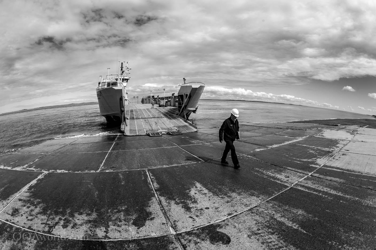 Ferry Magellan Straits Punta Arenas Photo Ooaworld