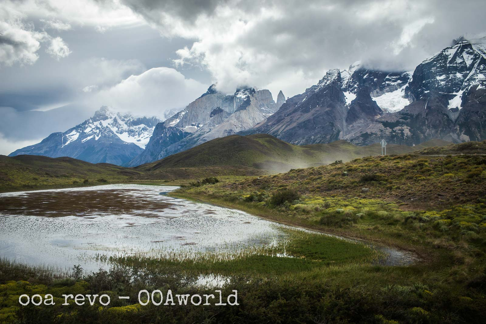 Torres del Paine Lake Photo Ooaworld