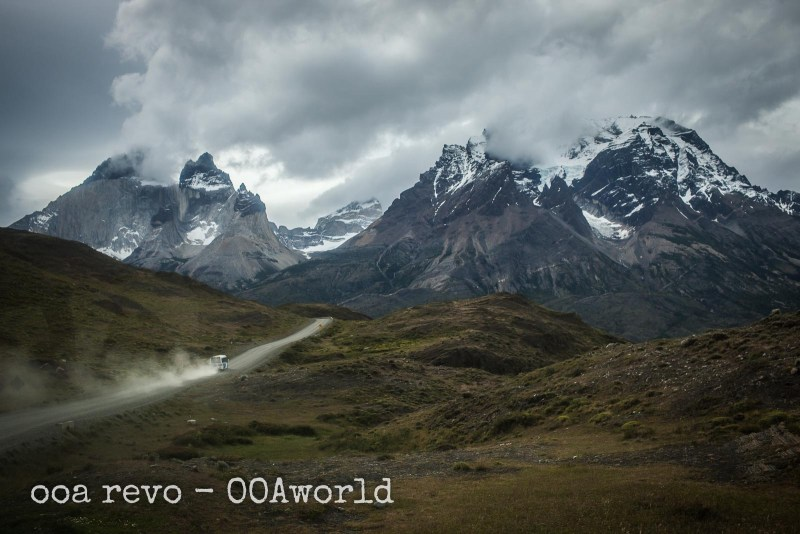 Torres del Paine W Trek Photos Bus Road Photo Ooaworld