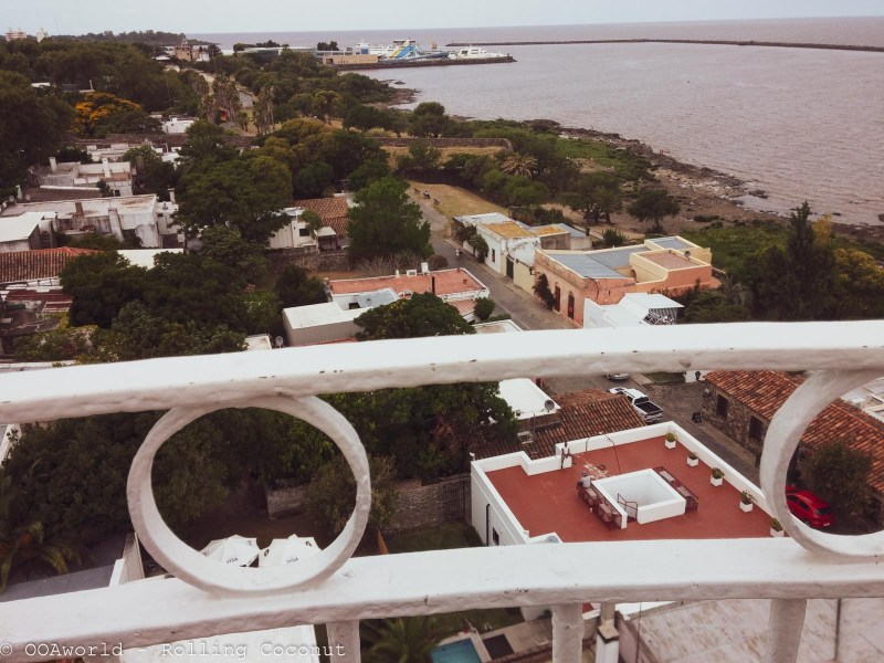 View from Lighthouse Colonia Uruguay Photo OOAworld Rolling Coconut