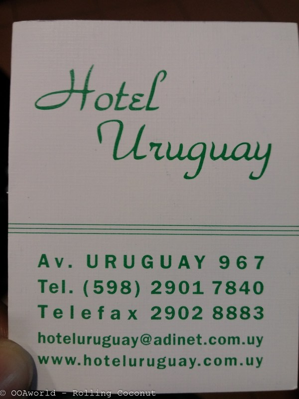 Hotel Uruguay Montevideo Contact Information Photo OOAworld Rolling Coconut Photo Ooaworld
