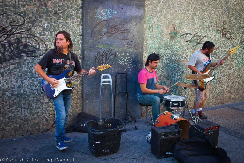 Santiago Chile Music Streets Photo Ooaworld Rolling Coconut