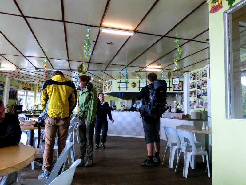 Laban Rata dining room Mount Kinabalu photo ooaworld Rolling Coconut