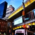 New york yellow bridge USA road trip photo ooaworld