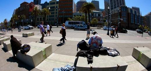 Hobo by Docks, San Francisco