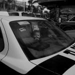 Tijuana, baby in a taxi
