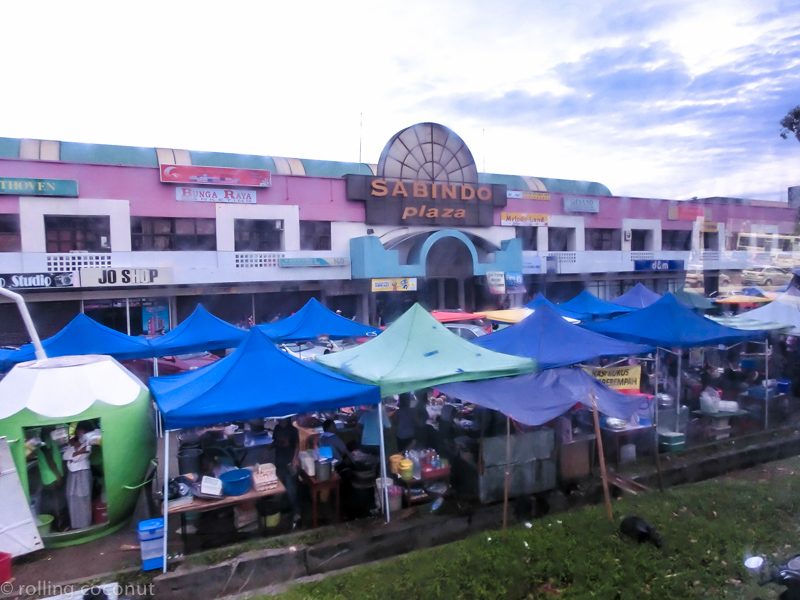 Tawau Market Borneo photo ooaworld Rolling Coconut