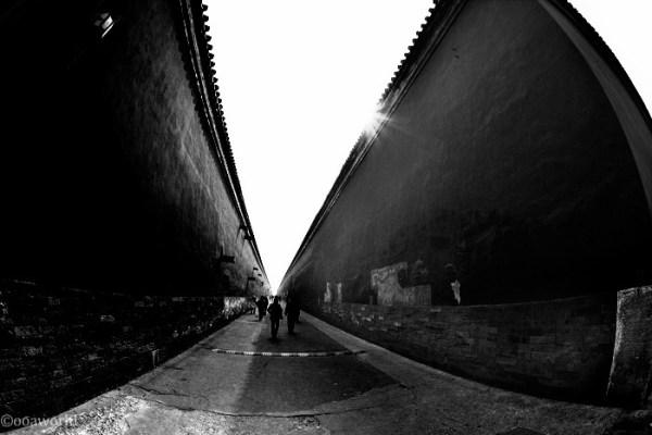 beijing forbidden city walls photo ooaworld